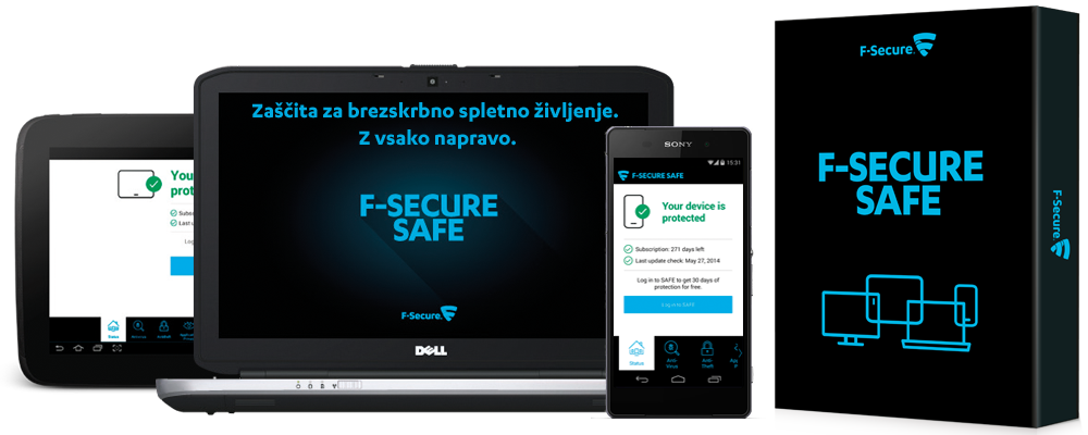 F-Secure Internet Security in Mobile Security