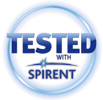 tested with spirent 100